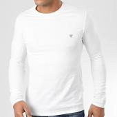 /achat-t-shirts-manches-longues/guess-tee-shirt-slim-manches-longues-m01i34-j1300-blanc-204263.html