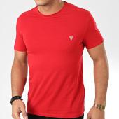 /achat-t-shirts/guess-tee-shirt-slim-m01i24-j1300-rouge-204272.html