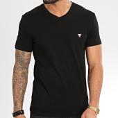 /achat-t-shirts/guess-tee-shirt-slim-col-v-m01i32-j1300-noir-204276.html
