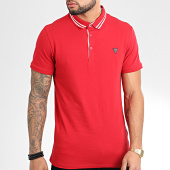 /achat-polos-manches-courtes/guess-polo-manches-courtes-m01p45-j1300-rouge-204285.html