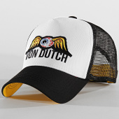 /achat-trucker/von-dutch-casquette-trucker-eye-patch-noir-blanc-204366.html