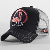 /achat-trucker/von-dutch-casquette-trucker-flamingo-gris-noir-204367.html