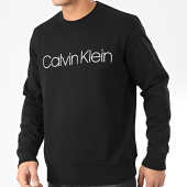 /achat-sweats-col-rond-crewneck/calvin-klein-sweat-crewneck-cotton-logo-4059-noir-204394.html