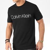 /achat-t-shirts/calvin-klein-tee-shirt-cotton-front-logo-4063-noir-204403.html