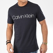 /achat-t-shirts/calvin-klein-tee-shirt-cotton-front-logo-4063-bleu-marine-204405.html
