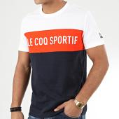 /achat-t-shirts/le-coq-sportif-tee-shirt-essential-saison-n1-2010427-bleu-marine-orange-blanc-204439.html
