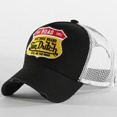 /achat-trucker/von-dutch-casquette-trucker-road-blanc-noir-204371.html