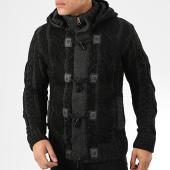 /achat-cardigans-gilets/classic-series-gilet-capuche-9000-noir-gris-anthracite-204579.html