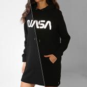 /achat-sweats-capuche/nasa-sweat-capuche-robe-femme-worm-reflective-noir-204544.html