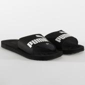 /achat-claquettes-sandales/puma-claquettes-purecat-360262-black-white-204542.html