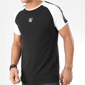 /achat-t-shirts/siksilk-tee-shirt-a-bandes-raglan-straight-hem-tape-15665-noir-204516.html