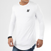 /achat-t-shirts-manches-longues/siksilk-tee-shirt-oversize-manches-longues-15818-blanc-204520.html