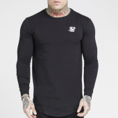 /achat-t-shirts-manches-longues/siksilk-tee-shirt-oversize-manches-longues-core-15822-noir-204521.html