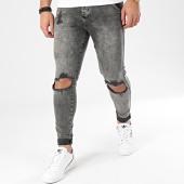 /achat-jeans/siksilk-jean-skinny-distressed-slice-knees-16059-gris-204522.html