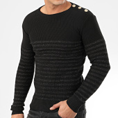 /achat-pulls/classic-series-pull-a-rayures-2033-noir-dore-204623.html