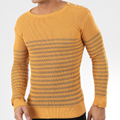 /achat-pulls/classic-series-pull-a-rayures-2033-moutarde-dore-204624.html