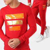 /achat-ensembles-survetement/classic-series-ensemble-de-survetement-406-rouge-204636.html