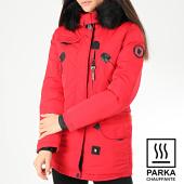 /achat-parkas/comme-des-loups-parka-chauffante-fourrure-femme-montreal-rouge-noir-204748.html