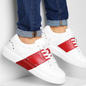 /achat-baskets-basses/guess-baskets-fm5kealea12-white-red-204613.html