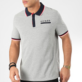 /achat-polos-manches-courtes/guess-polo-manches-courtes-m01p44-k8510-gris-chine-bleu-marine-204663.html