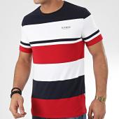 /achat-t-shirts/guess-tee-shirt-tricolore-a-rayures-m01i78-k8500-bordeaux-blanc-bleu-marine-204741.html