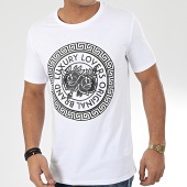 /achat-t-shirts/luxury-lovers-tee-shirt-meandres-blanc-noir-204657.html
