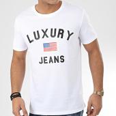 /achat-t-shirts/luxury-lovers-tee-shirt-luxury-jeans-blanc-204670.html