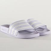 /achat-claquettes-sandales/adidas-claquettes-femme-adilette-eg5006-purple-tint-cloud-white-204763.html