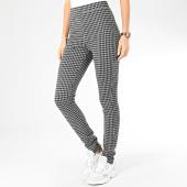 /achat-leggings/only-legging-femme-a-carrreaux-karen-gris-noir-204803.html