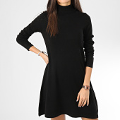/achat-robes/vero-moda-robe-pull-col-roule-femme-appy-noir-204813.html