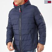 /achat-doudounes/tommy-jeans-doudoune-capuche-essential-padded-7365-bleu-marine-204856.html