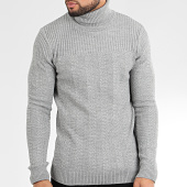 /achat-pulls/classic-series-pull-col-roule-avp-118-gris-chine-204882.html