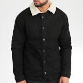 /achat-vestes-jean/classic-series-veste-jean-col-mouton-gj-3031-noir-beige-204946.html