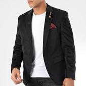 /achat-blazers/classic-series-veste-blazer-velours-tf-8006-noir-204979.html