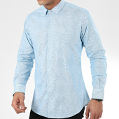 /achat-chemises-manches-longues/paname-brothers-chemise-manches-longues-floral-ch88-bleu-clair-204981.html