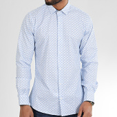 /achat-chemises-manches-longues/paname-brothers-chemise-manches-longues-floral-ch53-blanc-bleu-clair-204982.html