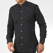 /achat-chemises-manches-longues/paname-brothers-chemise-manches-longues-ch118-noir-204983.html