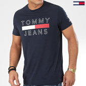 /achat-t-shirts/tommy-jeans-tee-shirt-essential-logo-7430-bleu-marine-204957.html
