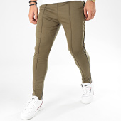 /achat-pantalons-carreaux/frilivin-pantalon-1671-vert-kaki-noir-205009.html