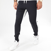 /achat-pantalons-carreaux/frilivin-pantalon-a-bandes-1565-bleu-marine-blanc-205030.html