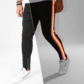 /achat-pantalons-carreaux/frilivin-pantalon-a-bandes-reflechissantes-1673-noir-orange-fluo-gris-205033.html