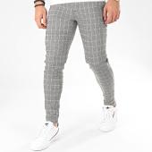 /achat-pantalons-carreaux/frilivin-pantalon-a-carreaux-1678-noir-blanc-beige-205035.html
