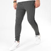 /achat-pantalons-carreaux/frilivin-pantalon-a-rayures-avec-bandes-1670-gris-anthracite-chine-205102.html