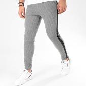 /achat-pantalons-carreaux/frilivin-pantalon-a-rayures-avec-bandes-1670-gris-chine-205103.html