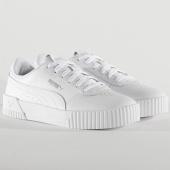 /achat-baskets-basses/puma-baskets-femme-carina-l-370325-puma-white-white-silver-205096.html