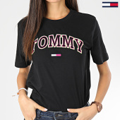 /achat-t-shirts/tommy-jeans-tee-shirt-femme-neon-collegiate-7540-noir-205004.html