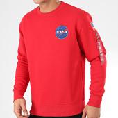 /achat-sweats-col-rond-crewneck/alpha-industries-sweat-crewneck-space-shuttle-178307-rouge-205187.html