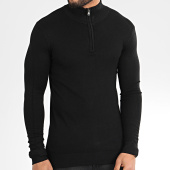 /achat-sweats-col-zippe/classic-series-sweat-col-zippe-ld-6673-noir-205130.html