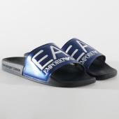 /achat-claquettes-sandales/ea7-claquettes-slipper-visibility-xcp001-xcc22-noir-bleu-marine-205284.html