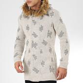 /achat-cardigans-gilets/ikao-gilet-zippe-capuche-fourrure-f3512-beige-205339.html